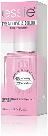 essie Treat Love & Color, Breathable Nail Polish, Power Punch Pink, 13.5 ml