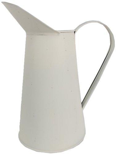 Craft Abgang Off Weiß Zinn Krug, mehrfarbig, 27,9cm