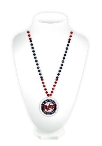 MLB Perlen mit Medaillon, BDM4601, Minnesota Twins Minnesota Twins-ausrüstung