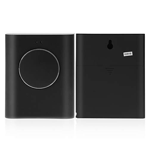 Ashata campanello, portatile campanello senza fili set wireless 200 m distanza, campanello cordless mp3 suonerie varie campanello, 1 ricevitore e 1 trasmettitore