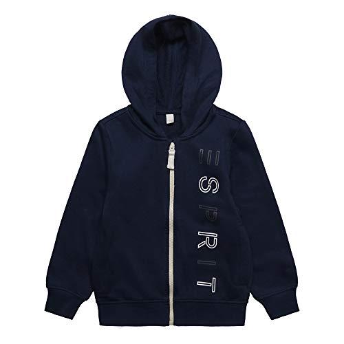 ESPRIT KIDS Jungen C Pe Sweatshirt, Blau (Navy 490), (Herstellergröße: 116+) -