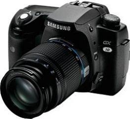 Samsung GX-10 SLR-Digitalkamera (10 Megapixel, Bildstabilisator) inkl. D-Xenon 18-55mm Objektiv (Samsung Von Digital-kamera-bundle)