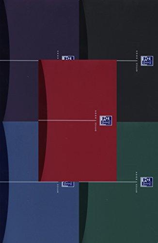 Oxford Office Spiralbuch/353002403 A5 liniert 7 mm 90 g/qm Inh.90 Blatt
