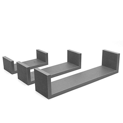 Estantes flotantes rectangular Estantería - 3 tamaños