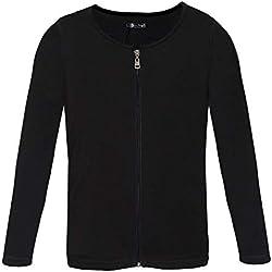per Camisas Hombres Térmicos Invierno T-Shirt Manga Larga Calefactable Electrónico Ropa Interior con Felpa