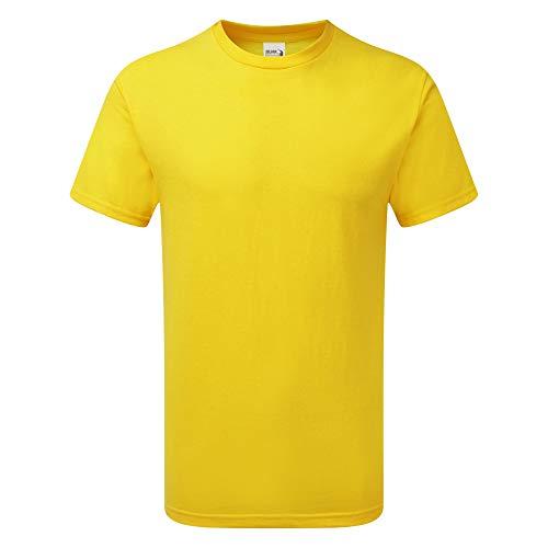 Gildan Herren Hammer Heavyweight T-Shirt (3XL) (Gänseblümchen) Heavyweight Long Sleeve Sweatshirt