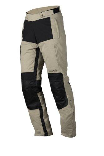 NERVE 1511060545_04 Pantaloni Moto Bout, Beige, L