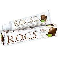 R.O.C.S. - Schokolade und Minze Zahncreme Bekämpfung von Zahnfleischbluten & -Entzündungen - 74 g