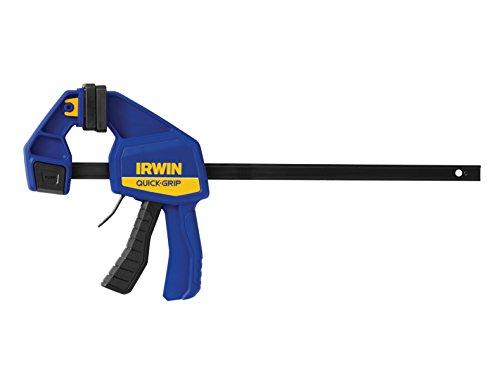 Quick-Grip Irwin 512QC Grip Mod. Quick Change 300mm, Negro, Azul, Amarillo, 300 mm