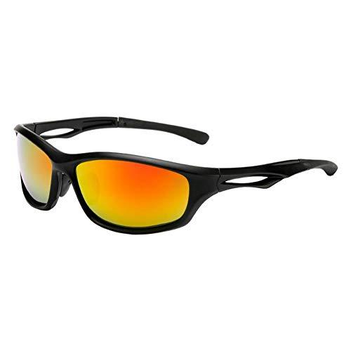 Westeng Unisex Sonnenbrille Fahrradbrille Wechselgläser Polarisierte Sonnenbrille Sport- und Freizeitstil (1)