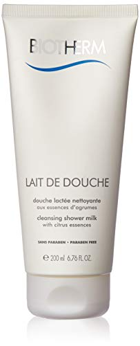 Biotherm Lait de Douche femme/women, Cleansing shower milk, 1er Pack (1 x 200 g)