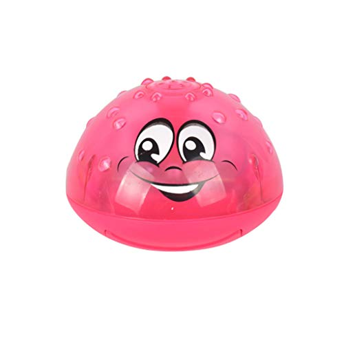 SUNFANY Kinder Badespielzeug, Spray Wasser Kann Treiben Drehen Mit Dusche Pool Spielzeug für Kleinkind-Party - Red