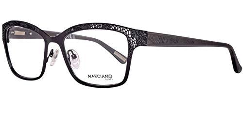 Guess Damen Brille GM027453001 Brillengestelle, Schwarz, 53
