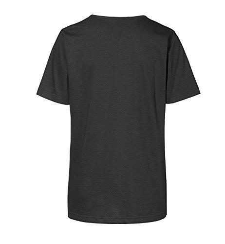 Bedrucktes Damen Gothic T-Shirt Dark Mystical Girl Schwarz