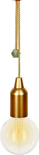 Spiegelburg 14764 Große LED-Ziehleuchte Gold - I love my Garden