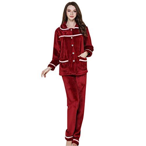 Amphia - Frauen-Pyjamas - Dreiteiliges Set - Nachtwäsche -
