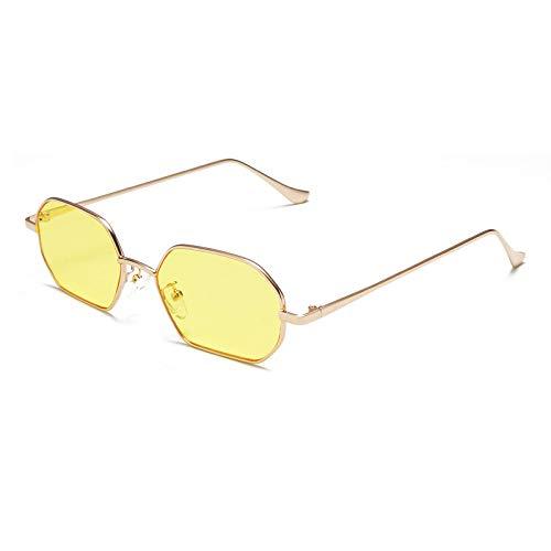 Weiwei Sonnenbrille,Quadratische Sonnenbrille aus Metall