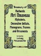 Treasury of Authentic Art Nouveau: Alphabets, Decorative Initials, Monograms, Frames and Ornaments (Dover Pictorial Archive Series) Nouveau Monograms