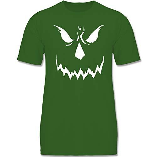 Anlässe Kinder - Scary Smile Halloween Kostüm - 122-128 (7-8 Jahre) - Grün - F140K - Jungen ()
