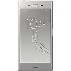 "Sony Xperia XZ1 - Smartphone de 5.2"" (Bluetooth, Octa Core Snapdragon 835, 4 GB de RAM, memoria interna de 64 GB, cámara de 19 MP, Android), Plata"