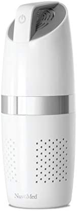 NuvoMed Portable Air Purifier with Hepa Filter and inbuilt Ionizer (White)