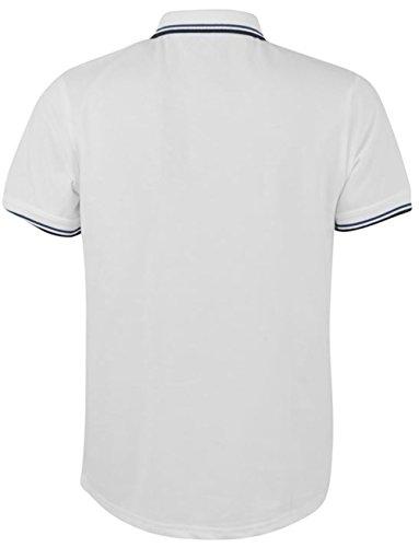 Firetrap Herren Poloshirt Mehrfarbig Mehrfarbig Mehrfarbig - Weiß