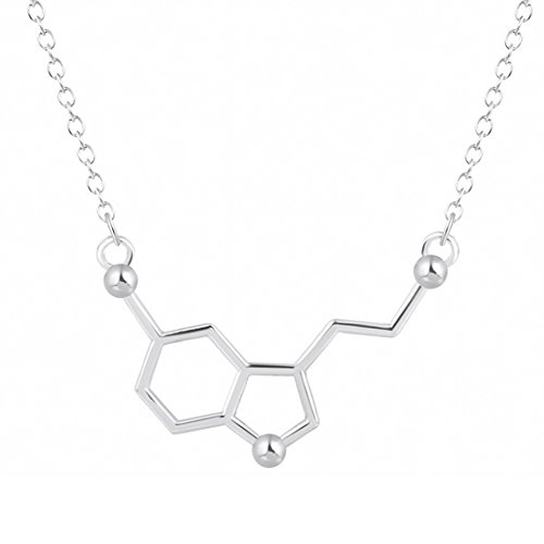 mese-london-serotonin-necklace-silver-plated-chemistry-structure-happiness-pendant-elegant-gift-box