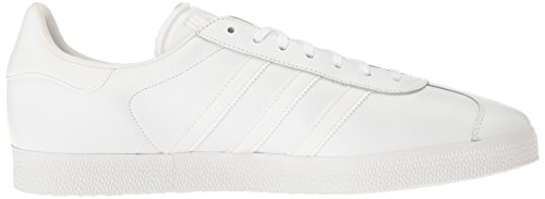 adidas Mens Gazelle Leather Trainers White