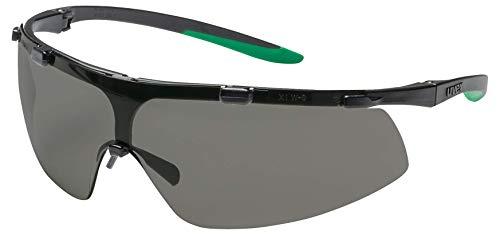 ißer-Schutzbrille - Infradur Plus - Getönt/Schwarz-Grün ()