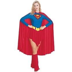Rubbies - Disfraz de Superwoman para mujer, talla UK 8 - 10 (RB15553L)