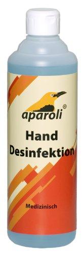Preisvergleich Produktbild Aparoli 840363 Medizinische Hand - Desinfektion, 500 ml
