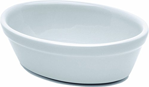 Nextday Catering Equipment Supplies f20-w Royal Oval Pie Dish, 16 cm, color blanco...