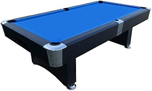 BuckShot Billardtisch 9ft Manhattan - 282 x 155 x 80 cm - 9 Fuß Pool Billard - Kugelrücklauf - Tischbillard mit Zubehör - 150 kg (Billardtisch 9 Fuß)