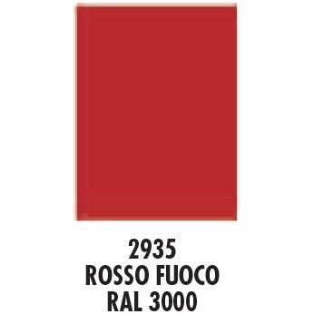 Arexons 3935 Acrilcolor Ral 3000, Rosso Fuoco, 400 ml
