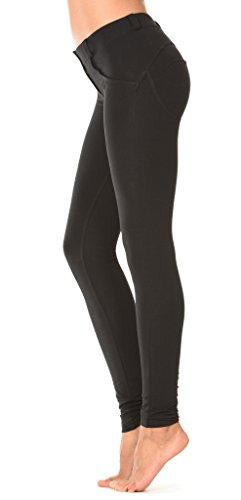 Freddy Damen Jeans / Slim Fit Jeans Regular Waist Black