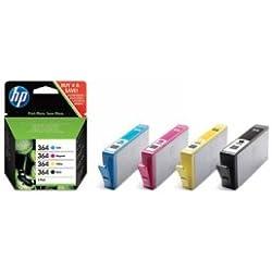 Cartouche HP 364 Pack (Couleur + Noire)