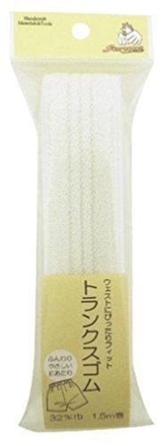 Kihara Sankokko Troncs Caoutchouc Sun 40-89 32 mm 1,5 m à remontage Blanc