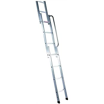 youngman 313340 easiway aluminium 3 section loft ladder. Black Bedroom Furniture Sets. Home Design Ideas