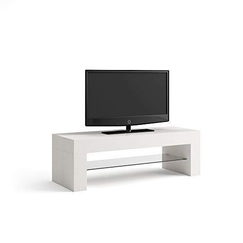 Mobili Fiver Evo Mobile-TV, Holz, Esche weiß, 112x 40x 36cm
