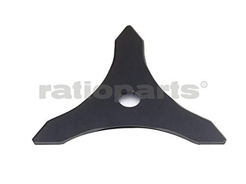 Couteau à taillis 3 dents 255 mm inscription 25,4 mm, convient à tous. les débroussailleuses neuf