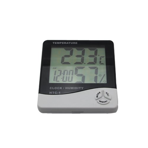 LCD termómetro higrometro medidor humedad temperatura