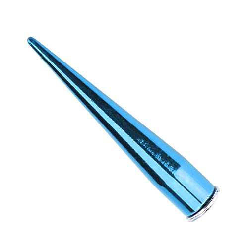 Sätze Metall Spike Nieten und Bolzen Schraube zurück für DIY Lederhandwerk(Blau) ()