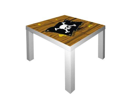 Stikkipix Piraten Möbelsticker/Aufkleber für den Tisch LACK von IKEA - IM50 - Möbel Nicht Inklusive