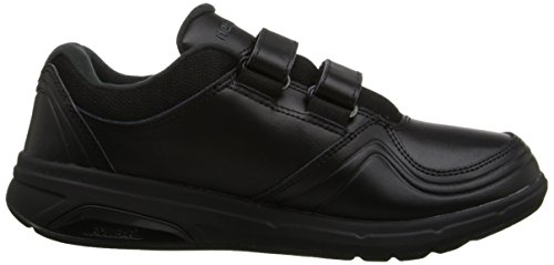 New Balance Women's WW813 Walking Hook & Loop Shoes, Black, 10 B US Black