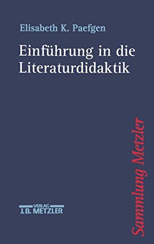 Einführung in die Literaturdidaktik (Sammlung Metzler)