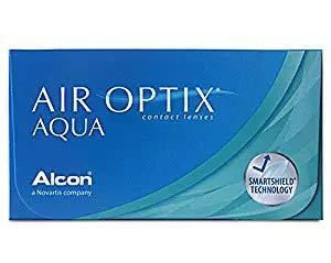 Air Optix Aqua Monatslinsen weich, 6 Stück / BC 8.6 mm / DIA 14.2 / +3,75 Dioptrien