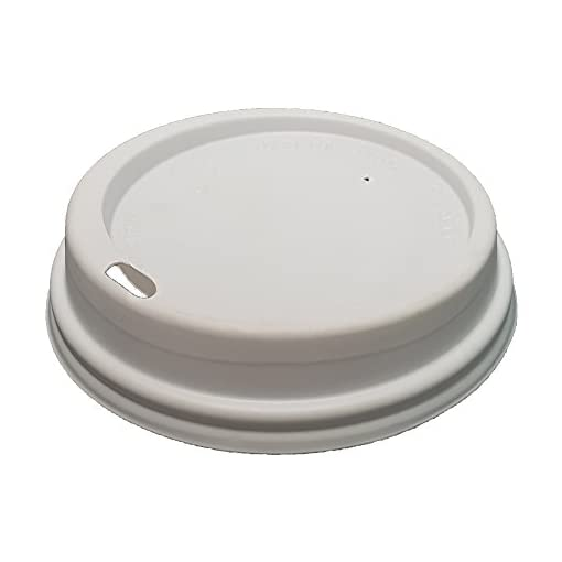 Paper Hot Coffee Tea Drinking Cups 8oz – 228ml (50 Pack)