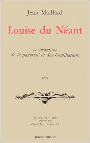 Louise du Néant, ou, Le Triomphe de la pauvreté et des humiliations