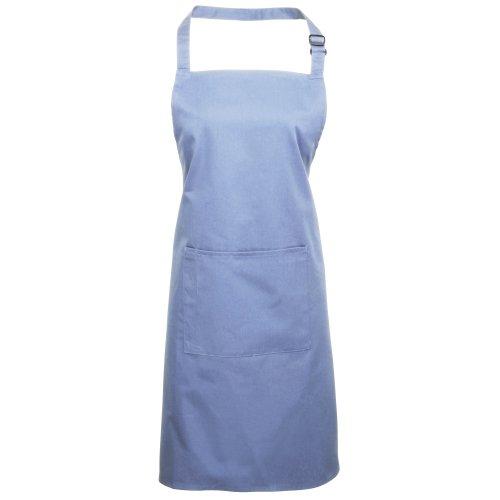 Premier Fitness Herren Gastronomie-Schürze Premier Bip Apron, Blau (Mid Blue 00), onesize -