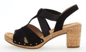 Gabor Comfort Sport Sandalette in Übergrößen Blau 82.773.26 Große Damenschuhe, Größe:42.5